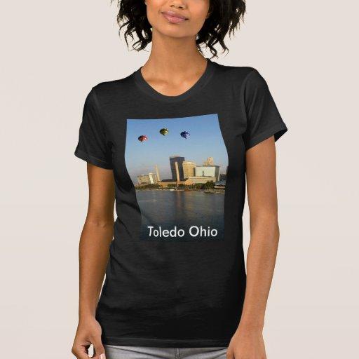 Ciudad de Toledo Ohio Playera