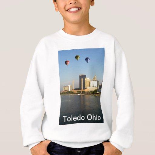 Ciudad de Toledo Ohio Sudadera