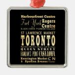 Ciudad de Toronto del arte de la tipografía de Can Ornamento De Reyes Magos