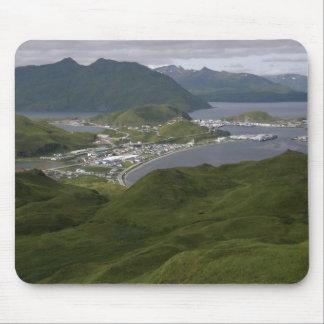 Ciudad de Unalaska, Alaska Alfombrilla De Raton