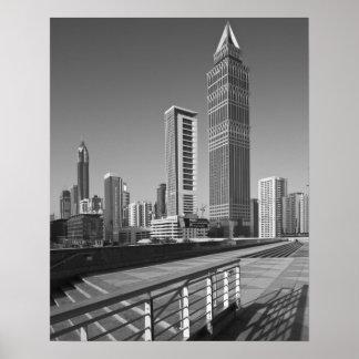 Ciudad de United Arab Emirates, Dubai, Dubai Póster