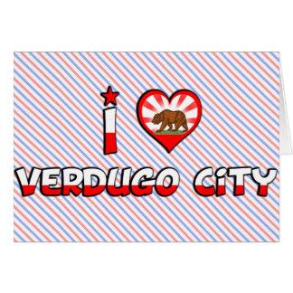 Ciudad de Verdugo CA Tarjeton