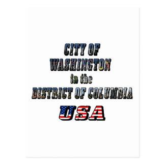 Ciudad de Washington en el distrito de Columbia lo