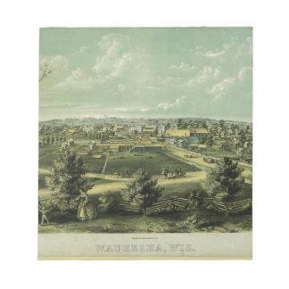 Ciudad de Waukesha Wisconsin a partir de 1857 Bloc