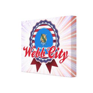 Ciudad de Webb, AUTORIZACIÓN Impresion En Lona