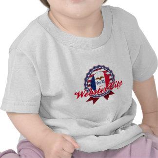 Ciudad de Webster IA Camisetas