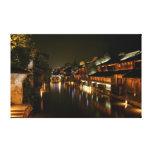 Ciudad de Wu en China Impresiones De Lienzo