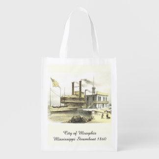 Ciudad del barco de vapor de Mississippi de Memphi
