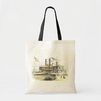 Ciudad del barco de vapor de Mississippi de Memphi Bolsas