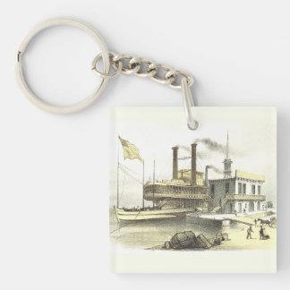 Ciudad del barco de vapor de Mississippi de Memphi Llavero