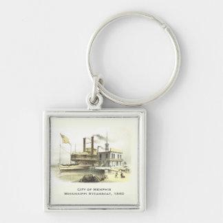Ciudad del barco de vapor de Mississippi de Memphi Llaveros