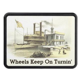 Ciudad del barco de vapor de Mississippi de Tapa De Remolque