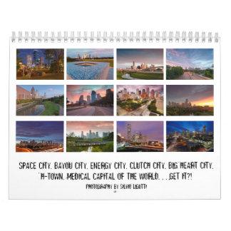 Ciudad del calendario de Houston