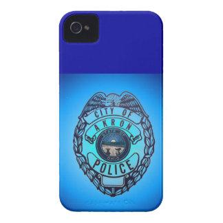 Ciudad del caso de Blackberry de la policía de Case-Mate iPhone 4 Cobertura