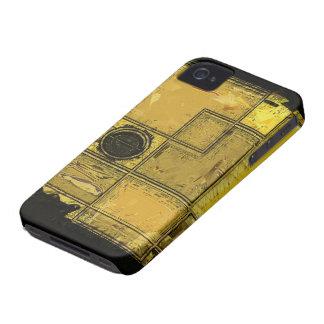 Ciudad del caso del iPhone del arte abstracto del iPhone 4 Carcasa