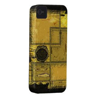 Ciudad del caso del iPhone del arte abstracto del iPhone 4 Case-Mate Protector