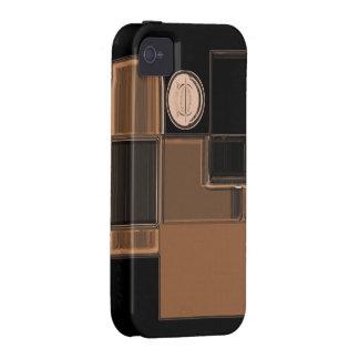 Ciudad del caso urbano de cristal del iPhone del Case-Mate iPhone 4 Carcasa