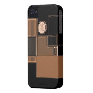 Ciudad del caso urbano de cristal del iPhone del iPhone 4 Case-Mate Carcasas