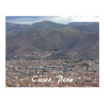 ciudad del cusco tarjeta postal