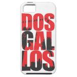 Ciudad del DOS Gallos del caso del iPhone 5 de los iPhone 5 Carcasas