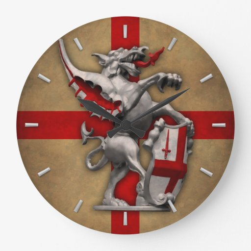 Ciudad del dragón de Londres Reloj