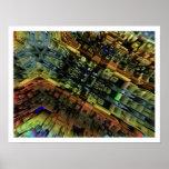 Ciudad del fractal poster