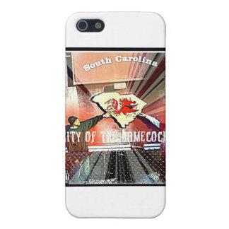 Ciudad del funcionario Mixtape de los gallos de iPhone 5 Carcasa