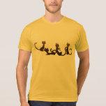 Ciudad del gato camiseta