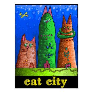 ciudad del gato postal
