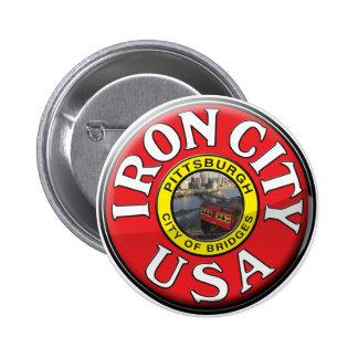 Ciudad del hierro pin