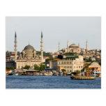 Ciudad del horizonte de Estambul Tarjeta Postal