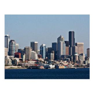 Ciudad del horizonte de la ciudad tarjetas postales