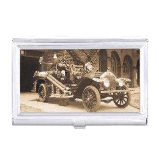 Ciudad del infante de marina del vintage 1924 del cajas de tarjetas de visita