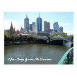 ciudad del melb tarjeta postal