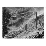 Ciudad del minero de carbón de WV: 1935 Postal