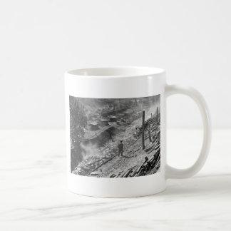 Ciudad del minero de carbón de WV: 1935 Taza De Café
