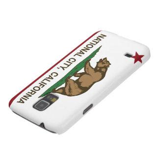 Ciudad del nacional de la bandera del estado de Ca Funda Para Galaxy S5