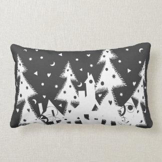 Ciudad del navidad almohada