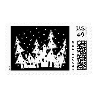 Ciudad del navidad sellos