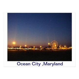 Ciudad del océano, Maryland, los E.E.U.U. Postal