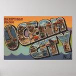 Ciudad del océano, New Jersey - escenas grandes de Posters