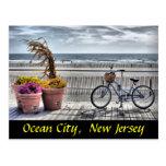 Ciudad del océano, New Jersey Tarjeta Postal