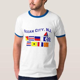 Ciudad del océano, NJ Playera