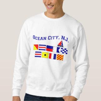 Ciudad del océano, NJ Sudadera Con Capucha