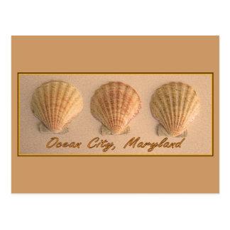 Ciudad del océano, postal de Maryland