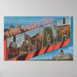 Ciudad del oeste del valle, Utah - escenas grandes Poster