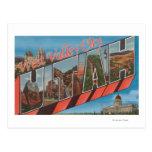 Ciudad del oeste del valle, Utah - escenas grandes Postal