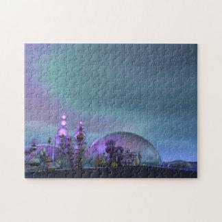 Ciudad del oro y de la plata de cristal V3 Puzzle Con Fotos