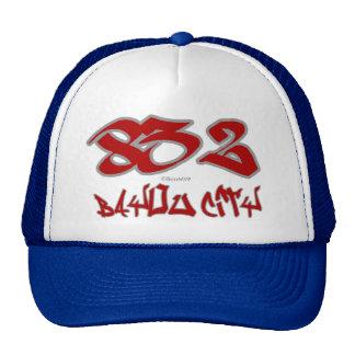 Ciudad del pantano del representante (832) gorras de camionero