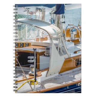 ciudad del puerto de Hilton Head Spiral Notebook